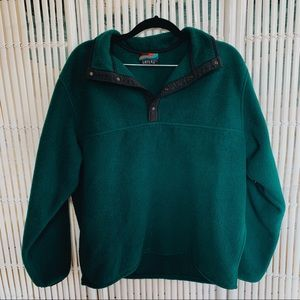 Vintage 90s Fuzzy Green Pullover